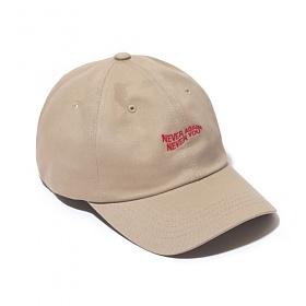 [벗딥]BUTDEEP - NANY CURVED CAP-BEIGE 모자 볼캡