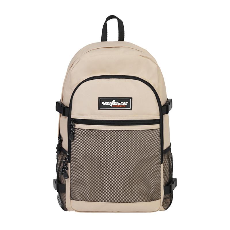 베테제 - Trueup Backpack (beige) 트루업 메쉬 망사 백팩 (베이지)