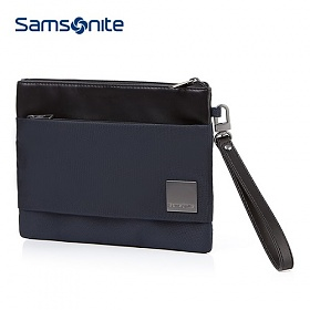 [쌤소나이트] HIP-SQUARE FLAT TABLET CLUTCH M 7.9 DARK BLUE 클러치