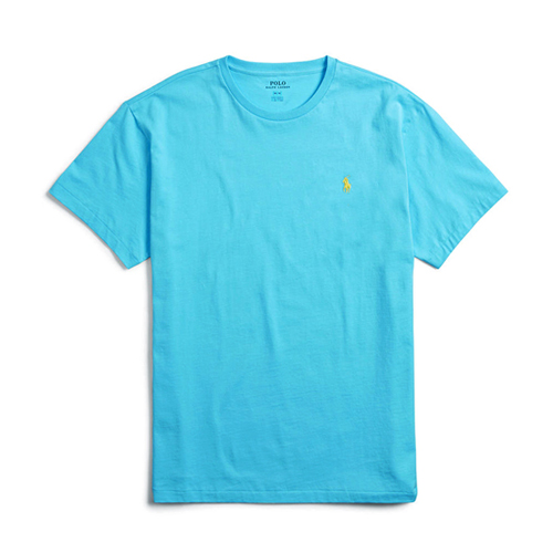 폴로랄프로렌 맨즈 라운드 반팔 티셔츠 052 아쿠아(엘로우) 남녀공용