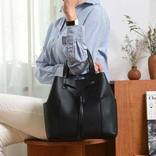 [깜비오] 루아 토트 복조리 복주머니 버킷백 가방