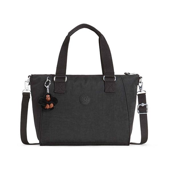 [키플링]KIPLING - AMIEL Medium handbag True Black 핸드백 토트백 숄더백