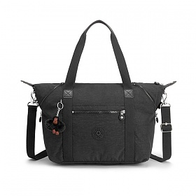 [키플링]KIPLING - ART Medium tote True Black 토트백 숄더백
