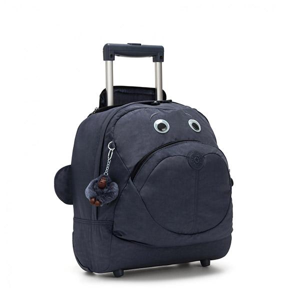 [키플링]KIPLING - BIG WHEELY Kids wheeled bag True Jeans 키즈 롤링백 소프트 캐리어