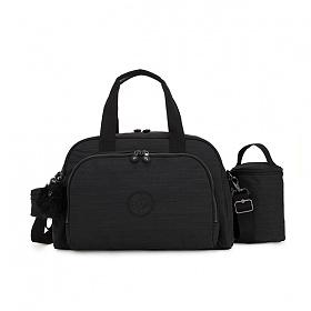 [키플링]KIPLING - CAMAMA Large babybag True Dazz Black 토트백 크로스백