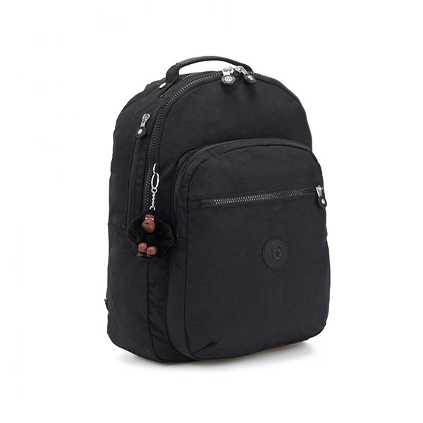 [키플링]KIPLING - CLAS SEOUL Large backpack True Black 백팩