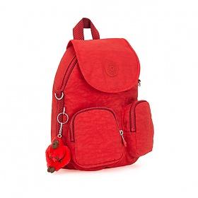 [키플링]KIPLING - FIREFLY UP Small backpack Active Red 백팩