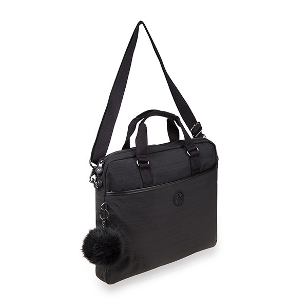 [키플링]KIPLING - KAITLYN Working bag True Dazz Black 토트백 크로스백