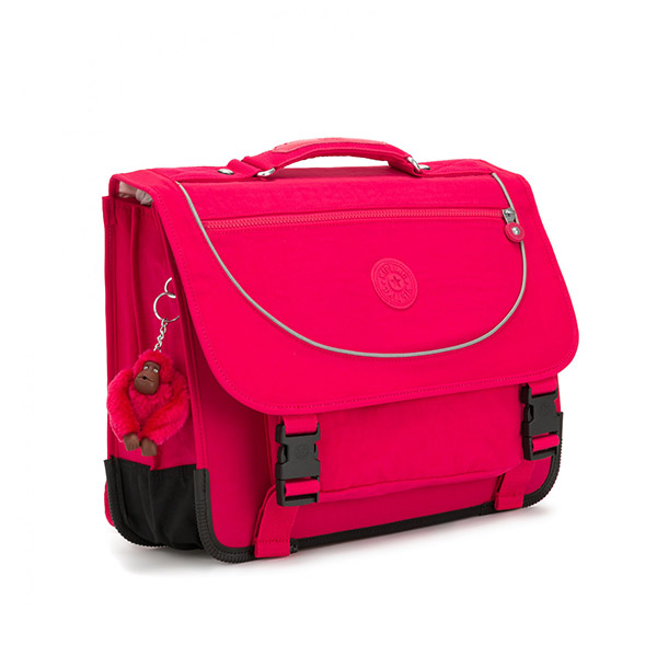 [키플링]KIPLING - PREPPY Medium schoolbag True Pink 백팩