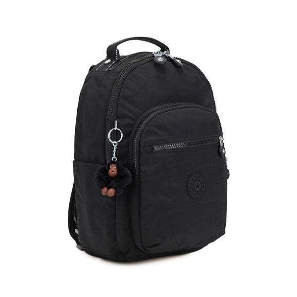 [키플링]KIPLING - SEOUL GO S Small backpack True Black 백팩