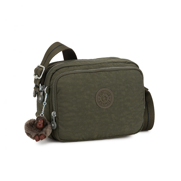 [키플링]KIPLING - SILEN Small crossbody Jaded Green C 크로스백
