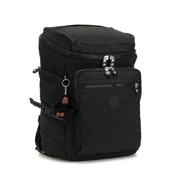 [키플링]KIPLING - UPGRADE Large backpack True Black 백팩