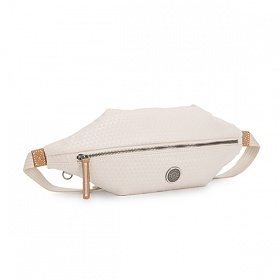 [키플링]KIPLING - YOKU Medium crossbody Triangle White 힙색