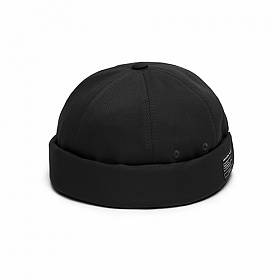 [언더컨트롤]UNDERCONTROL - MOLD CAP / TWILL COTTON / BLACK_볼캡 야구모자