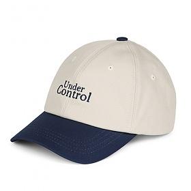[언더컨트롤]UNDERCONTROL - TEAM CAP / CLASSIC B B / MIX BLUE_볼캡 야구모자