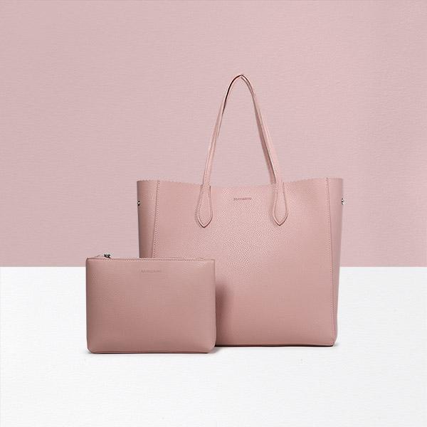 [브라비시모] 브릴랑(Brillant) - Pink 쇼퍼백 숄더백