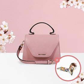 (★스카프증정)[브라비시모][서효림/유키카착용] 벚꽃슈아 (Choix) - Baby Pink 토트백 크로스백 여성가방