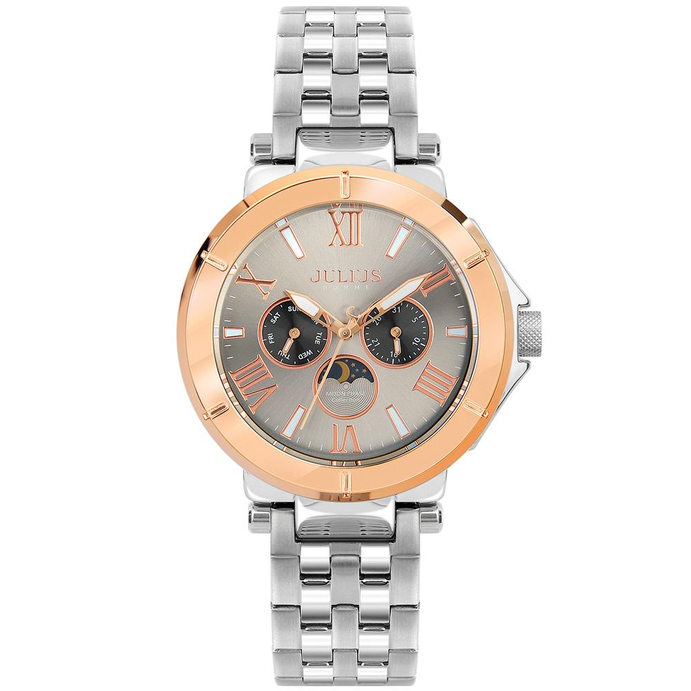 줄리어스옴므 - 포크102M 로즈 남성 메탈손목시계