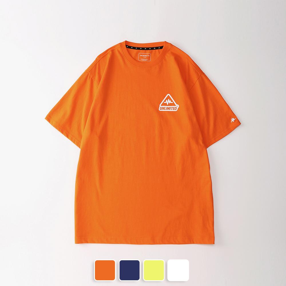 [언리미트]Unlimit - TRI Tee (U19BTTS20) 반팔티 반팔 티셔츠