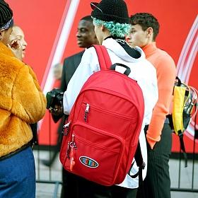 위글위글 - 백팩 Red 빅백팩 15인치 노트북 가방 (FRPOLBAP-003)