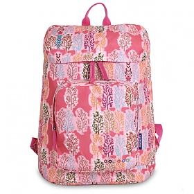 제이월드 - EVE 여자백팩 캐주얼백팩 여행가방 기저귀가방 애코백(JWS-59 핑크포레스트)