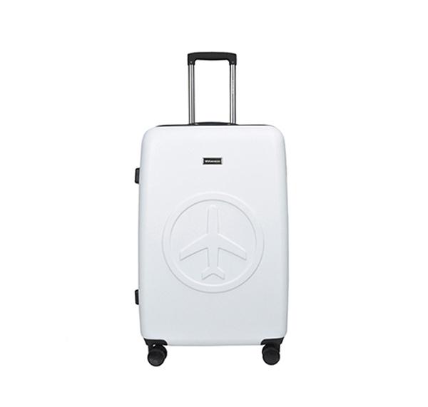 [비아모노] FLY VIAMONOH 엠보 캐리어 화물중형 (24in) (WHITE) 하드캐리어