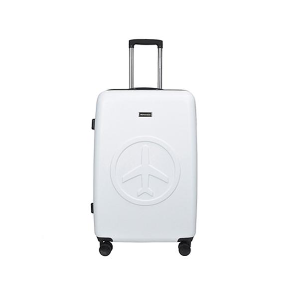 [비아모노] FLY VIAMONOH 엠보 캐리어 화물대형 (28in) (WHITE) 하드캐리어