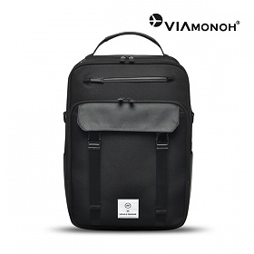 [비아모노] NEW-ROPE BACKPACK (BLACK) 백팩