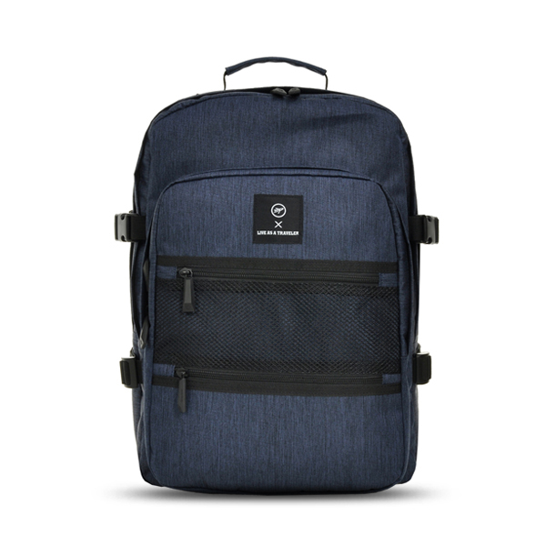 [비아모노] NEW-ROPE ONE POCKET BACKPACK (NAVY) 백팩