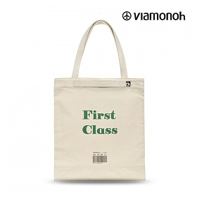 [비아모노] PLAYFUL CANVAS ECOBAG (GREEN) 에코백
