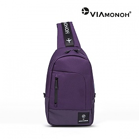 [비아모노] SPACE SLING BAG (PURPLE) 슬링백