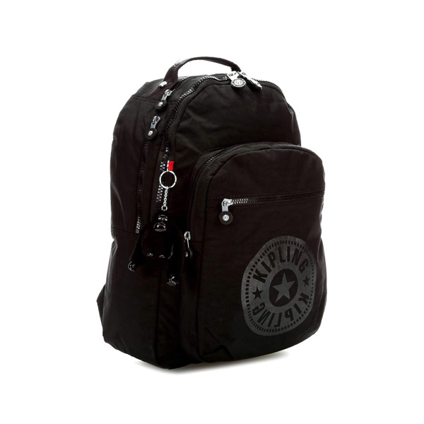 [키플링]KIPLING - CLAS SEOUL Large backpack Black Limited 백팩