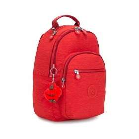 [키플링]KIPLING - CLAS SEOUL S Small backpack Active Red 백팩