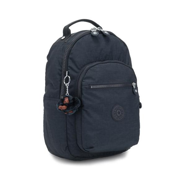 [키플링]KIPLING - CLAS SEOUL S Small backpack True Navy 백팩
