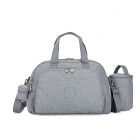 [키플링]KIPLING - CAMAMA Large babybag Cool Denim 토트백 크로스백