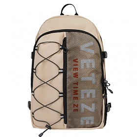 베테제 - Half Backpack (beige) 하프 스카치 스카치 리플렉티브 백팩 (베이지)