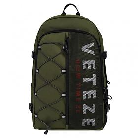 베테제 - Half Backpack (khaki) 하프 스카치 리플렉티브 스트링 백팩 (카키)