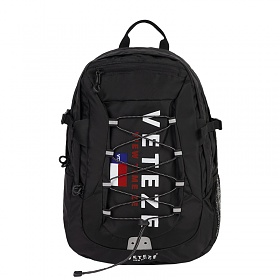 베테제 - Big Logo Backpack (black) 빅로고 스트링 백팩 (블랙)