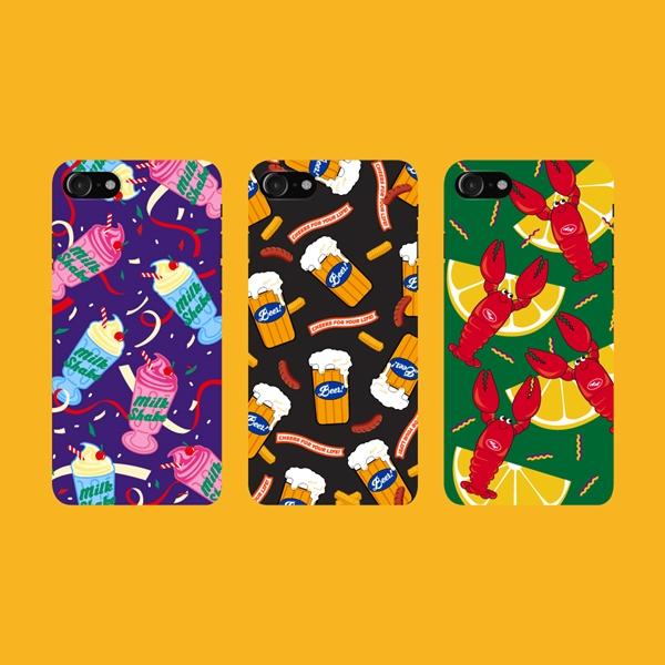 위글위글 - 메이커스 케이스 시즌5  주문제작 케이스 하드케이스 아이폰/갤럭시/LG 전기종 가능 케이스