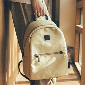 아날로그무드 모놀로그 백팩 (베이지) 데이백 아메카지 가방