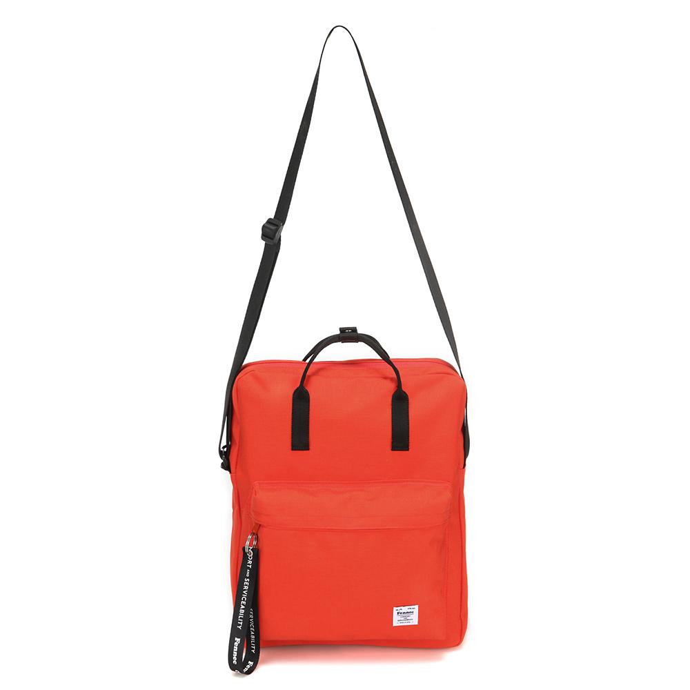 [페넥] FENNEC C&S 2WAY POCKET BAG - ORANGE 포켓 크로스백 토트백