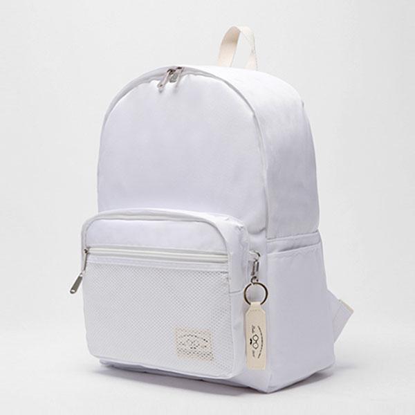 [로디스]LODIS - 소프트백팩 무지백팩 화이트 학생백팩 학생가방 신학기