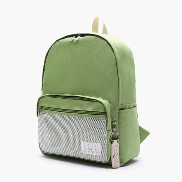 [로디스]LODIS - 소프트백팩 무지백팩 그린 학생백팩 학생가방 신학기