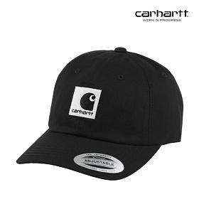 [칼하트WIP] CARHARTT WIP - Lewiston Cap (Black / Wax) 루이스턴 볼캡 야구모자 모자