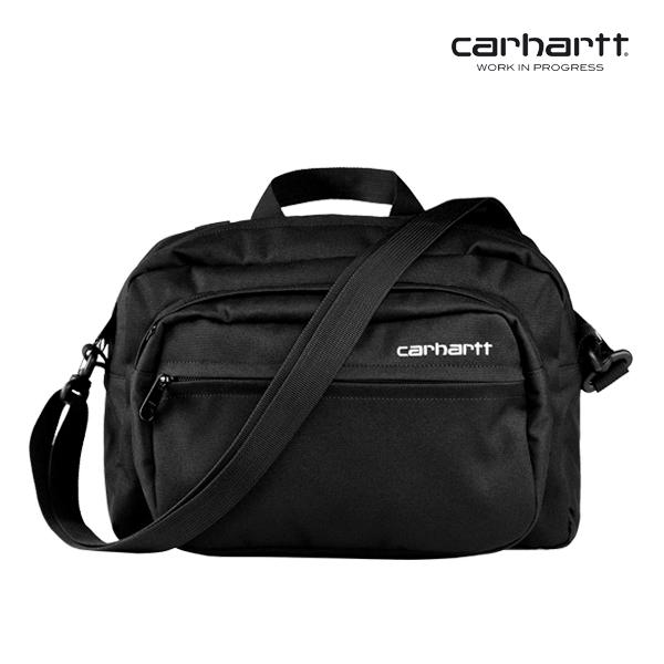 [칼하트WIP] CARHARTT WIP - Payton Shoulder Bag (Black / White) 페이톤 숄더백 크로스백 가방