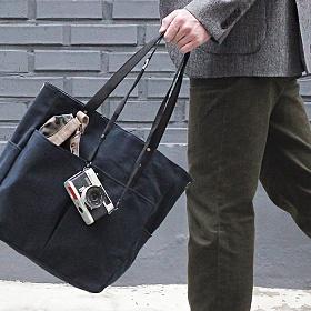 [모노노] MONONO - 6 Pocket 3 Way Bag Wax Canvas Navy 네이비 왁스캔버스 숄더백 토트백