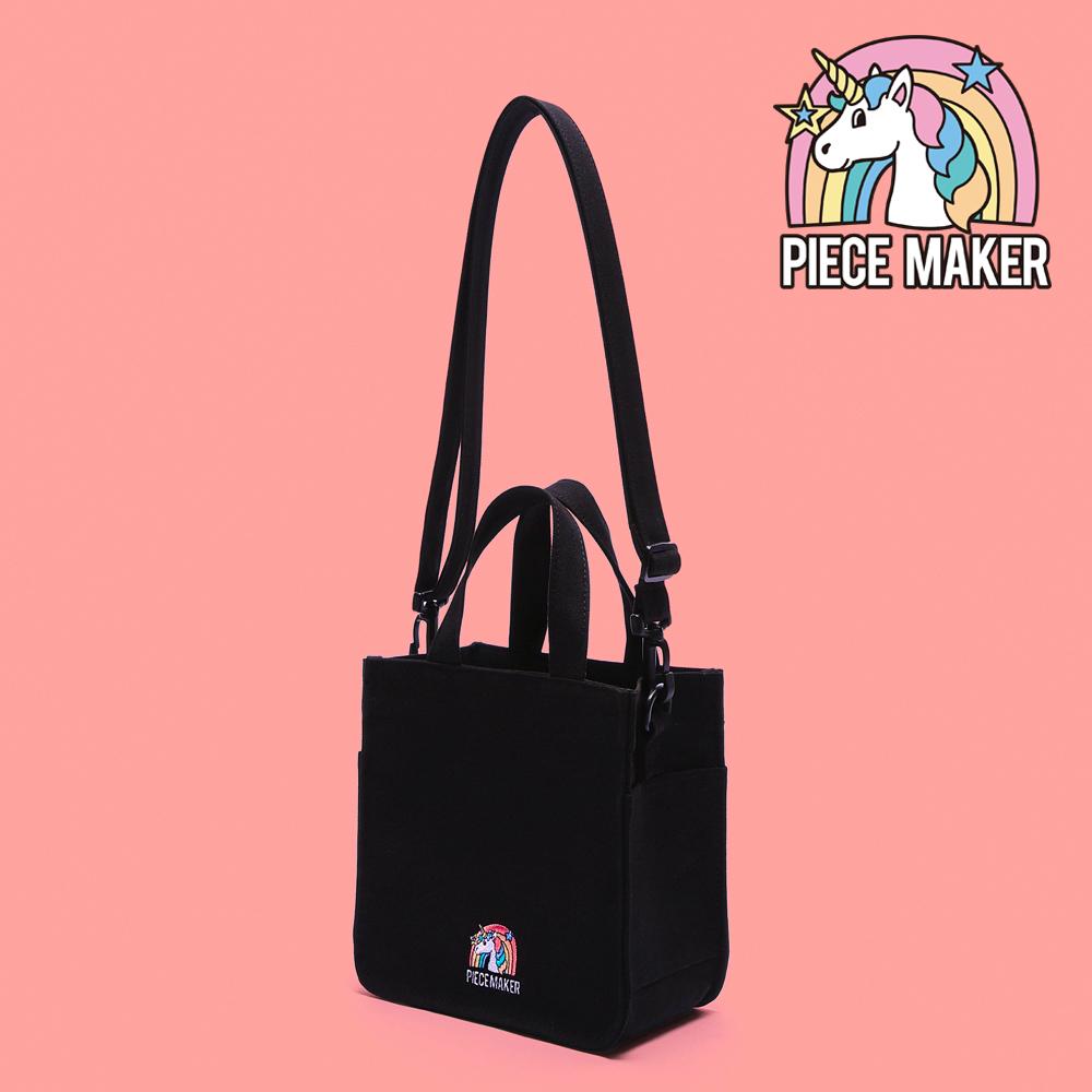 [피스메이커]PEICE MAKER - CANVAS UNICORN MINI BAG (BLACK) 캔버스 미니백 크로스백