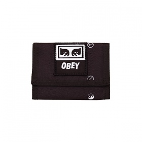 [오베이]OBEY - DROP OUT TRI FOLD WALLET (SYMBOL BLACK MULTI) 3단지갑 지갑