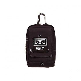 [오베이]OBEY - DROP OUT UTILITY BAG (SYMBOL BLACK MULTI) 스몰백 미니백 파우치