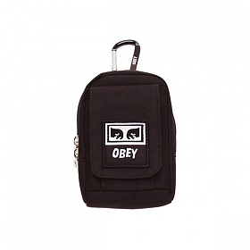 [오베이]OBEY - DROP OUT UTILITY BAG (BLACK) 스몰백 미니백 파우치